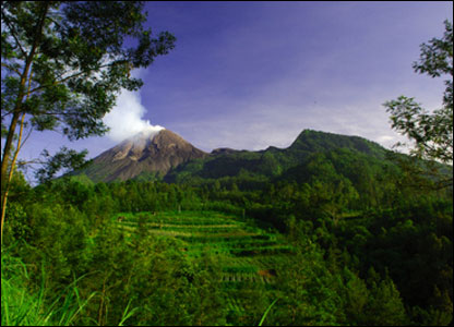 Mt. Merapi, Indonesia.