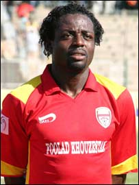 Nigerian striker Daniel Okechukwu Olerum