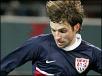 Reading and USA winger Bobby Convey