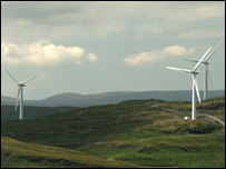 Hadyard Hill wind farm (Picture by Scottish and Southern Energy from the British Wind Energy Association)