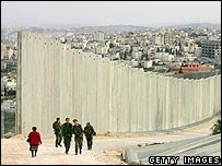 Israeli-built barrier