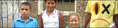 Jean Carlos, Kimberly y Daniela