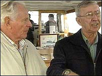 Two former crew members