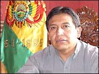 Canciller boliviano David Choquehuanca