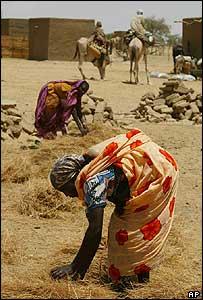 Darfur refugees in Sudan