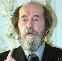 Alexander Solzhenitsyn. File photo