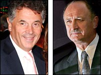 David Dein and Luiz Felipe Scolari