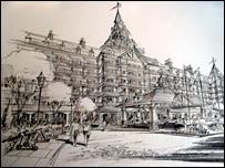 Hotel artist impression