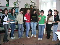 Students in Sibiu