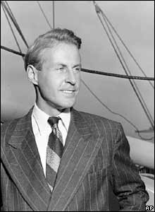 Thor Heyerdahl. Photo: 29 September 1947