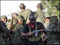 Ugandan troops