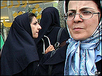 Street scene in Tehran