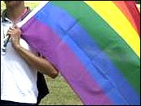 'Rainbow' flag - gay pride emblem