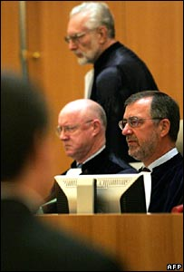 Judges in the European Union's Court of First Instance