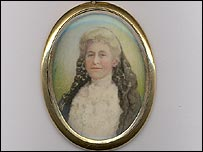 Helen Churchill Candee's locket
