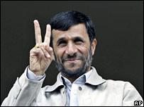 محمود احمدي نجاد رئيس إيران