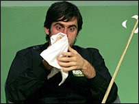 Ronnie O'Sullivan was a shadow of his usual self