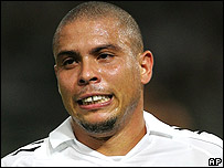 Brazil and Real Madrid striker Ronaldo