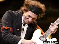 Keith Richards, guitarrista de los Rolling Stones.