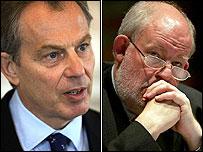 Tony Blair and Charles Clarke