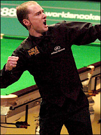 Scotland's Graeme Dott celebrates his win