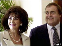 Pauline and John Prescott in happier times