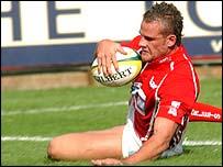 Lee Byrne has established himself as an international full-back