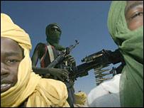 Sudan Liberation Army (SLA) rebels