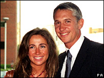 Michelle and Gary Lineker