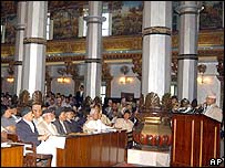 Reconvened Nepali assembly