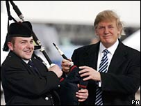 Piper Andrew Macleod with Donald Trump