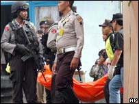 Raid in Indonesia