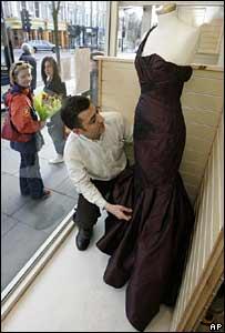 Keira Knightley's Oscars dress