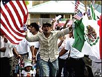 Акция протеста во Флориде