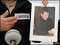 Police show a picture of Gerold Stadler