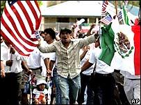 Manifestación en Florida