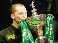 New World Snooker Champion Graeme Dott