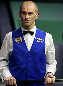 Peter Ebdon's 51 break in the 31st frame was countered by Dott's 69