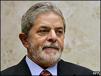 Luiz Inacio Lula da Silva, presidente de Bolivia