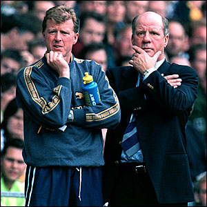 Steve McClaren (left), who started as Oxford reserve team coach in 1992, moves to Derby as assistant manager to Jim Smith in 1995