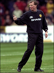 Steve McClaren joined Manchester United as assistant manager to Sir Alex Ferguson in February 1999