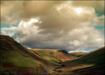Alun John, who now lives in Ascot, took this while walking on the hills overlooking the Elan Valley