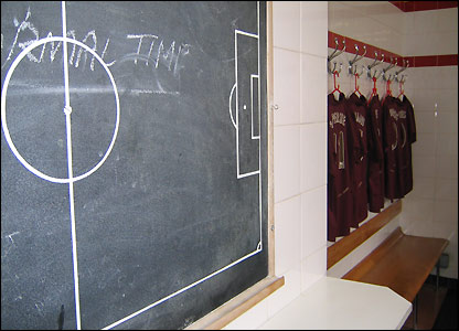 The Highbury dressing rooms were built in 1934