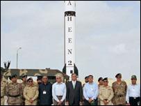 صاروخ شاهين الباكستاني القادر على حمل رؤوس نووية