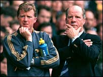 Steve McClaren (l) and Jim Smith