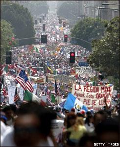 Marcha en Los Ángeles