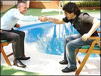 Lineker y Maradona