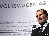 Volkswagen CEO Bernd Pischetsrieder