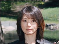 Picture of the accuser, Sayaka Kobayashi, provided by her lawyer