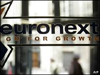 Euronext sign